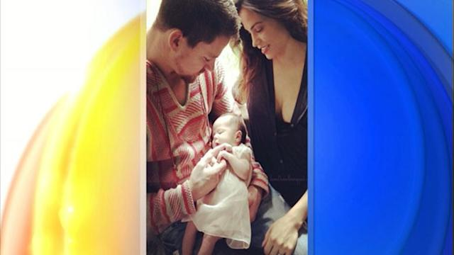 Channing Tatum on Baby Everly