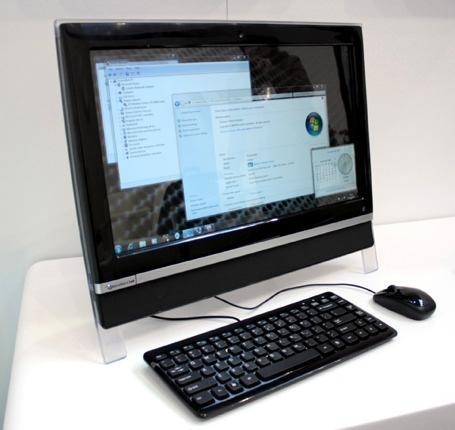Packard Bell debuts oneTwo line of all-in-one PCs