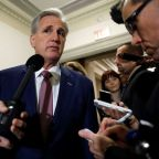 As Congress taps leaders, House's McCarthy fends off rival