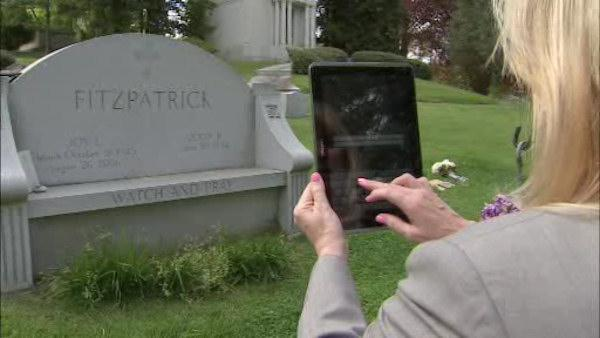 App turns cemeteries into living history lessons