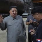 Kim inspects new sub, wants North Korea's military bolstered