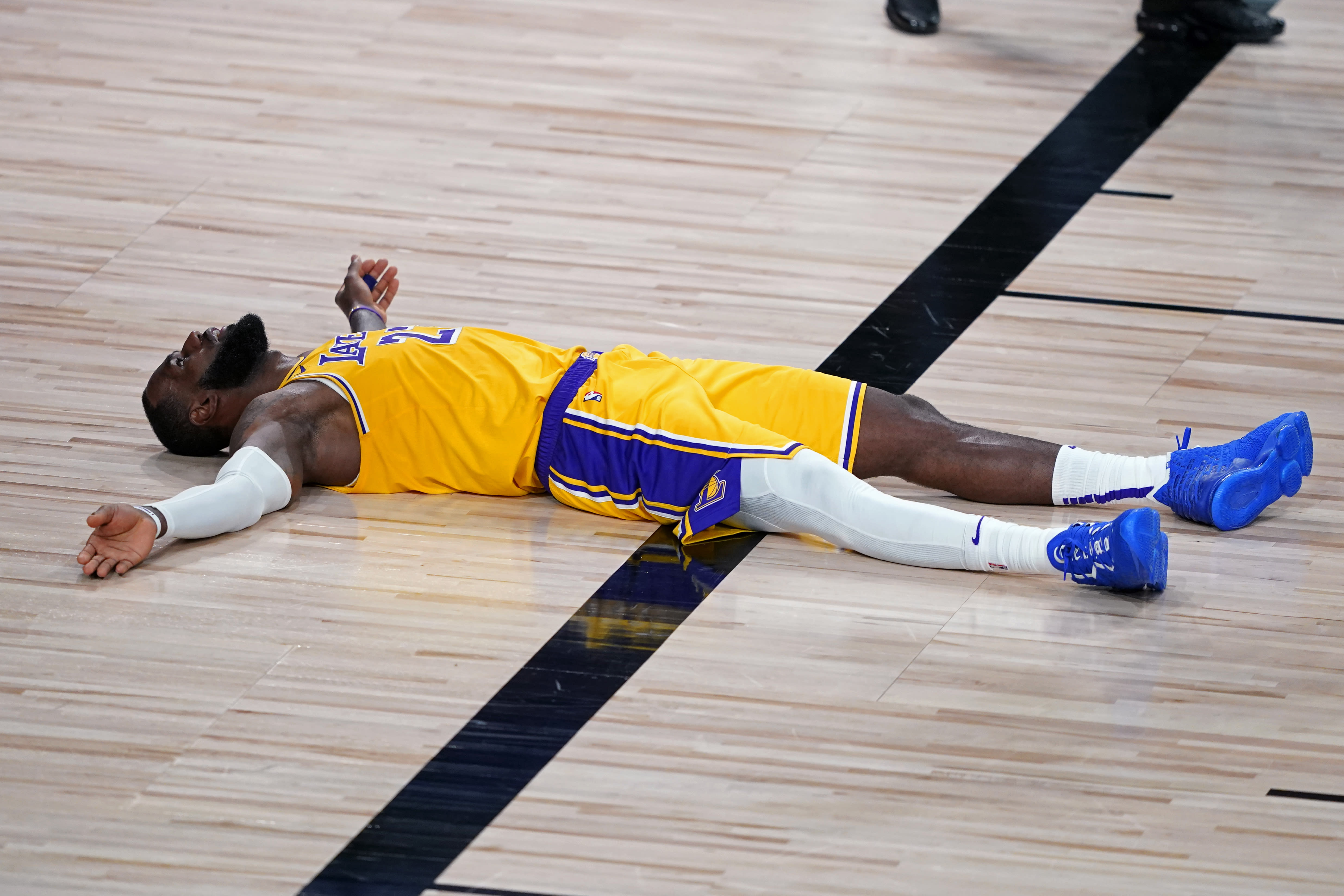 Nba Playoffs Lakers Facing Shooting Woes