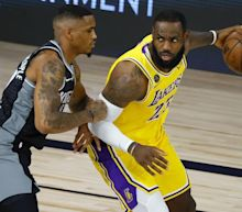 Lakers focus on the playoffs after losing to Kings in season finale