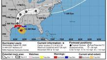 El huracán Laura ya tiene categoria 3 y aumentará a 4 antes de tocar tierra