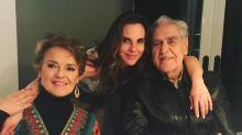 Kate del Castillo se llevó a sus papás para Estados Unidos