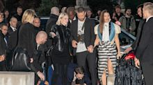 Justin Timberlake tackled on red carpet by notorious prankster at Paris Fashion Week