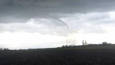 Rare Tornado Causes Damage in Netherlands