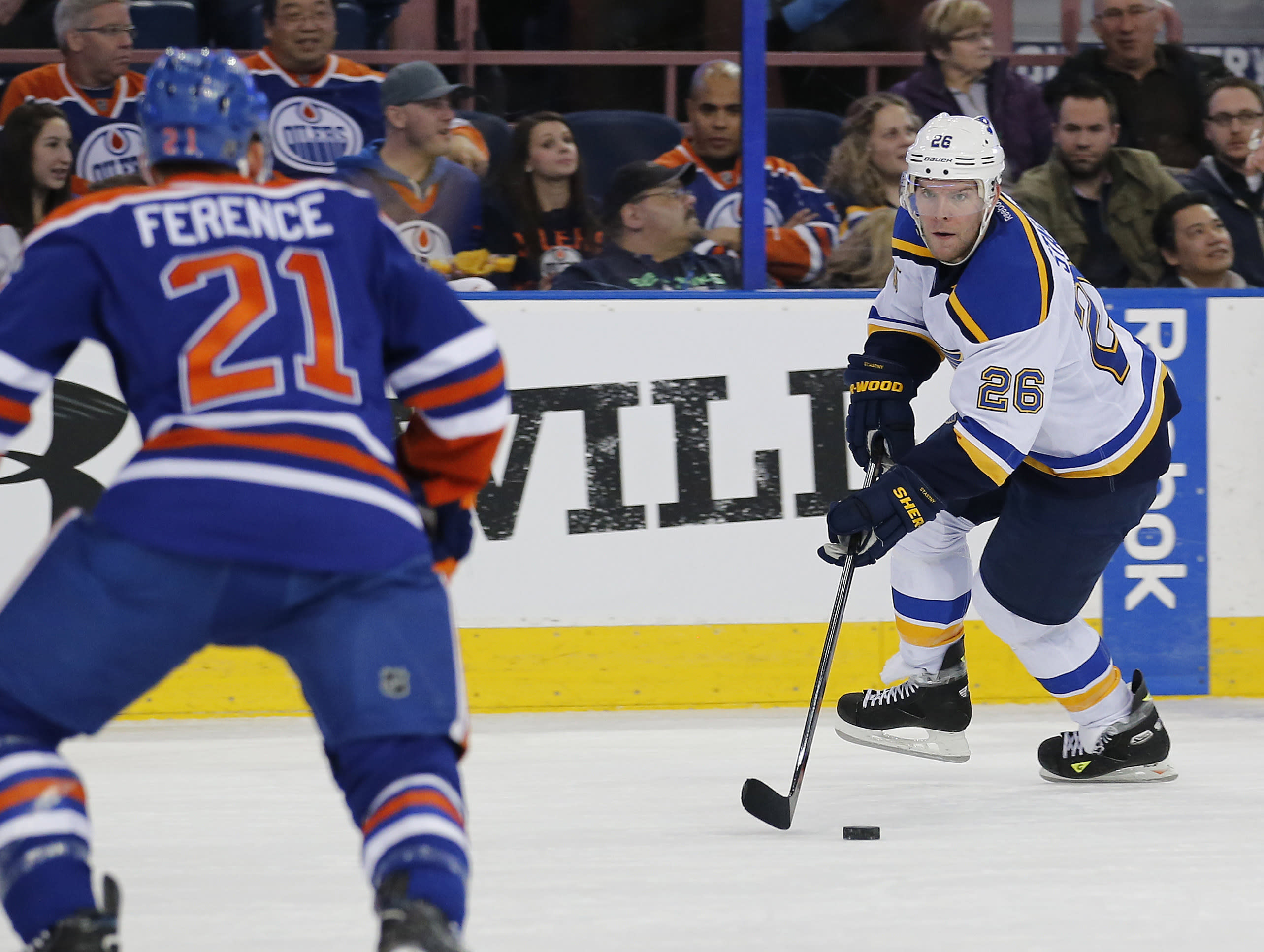 Paul Stastny Finally At Home In St Louis Part Of Me Felt Like I Was A Rookie Again