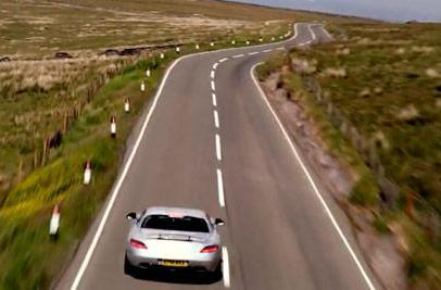 Mercedes SLS AMG and Isle of Man take center stage in 'world's fastest 3D car film'