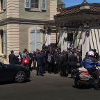 Biden-Putin meeting opens with reporters shoving