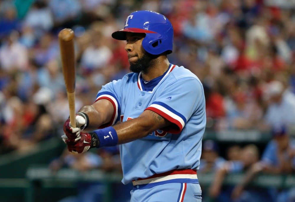 A throwback approach is sparking Elvis Andrus's career season