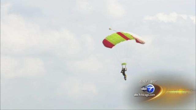Skydiver locked in coffin escapes, parachutes to safety
