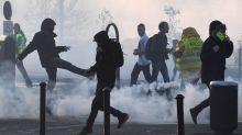 «Gilets jaunes» à Quimper: Quatre manifestants condamnés à de la prison ferme