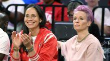 US women's sports stars Rapinoe, Bird announce engagement