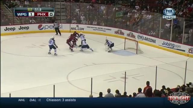 Winnipeg Jets at Phoenix Coyotes - 04/01/2014