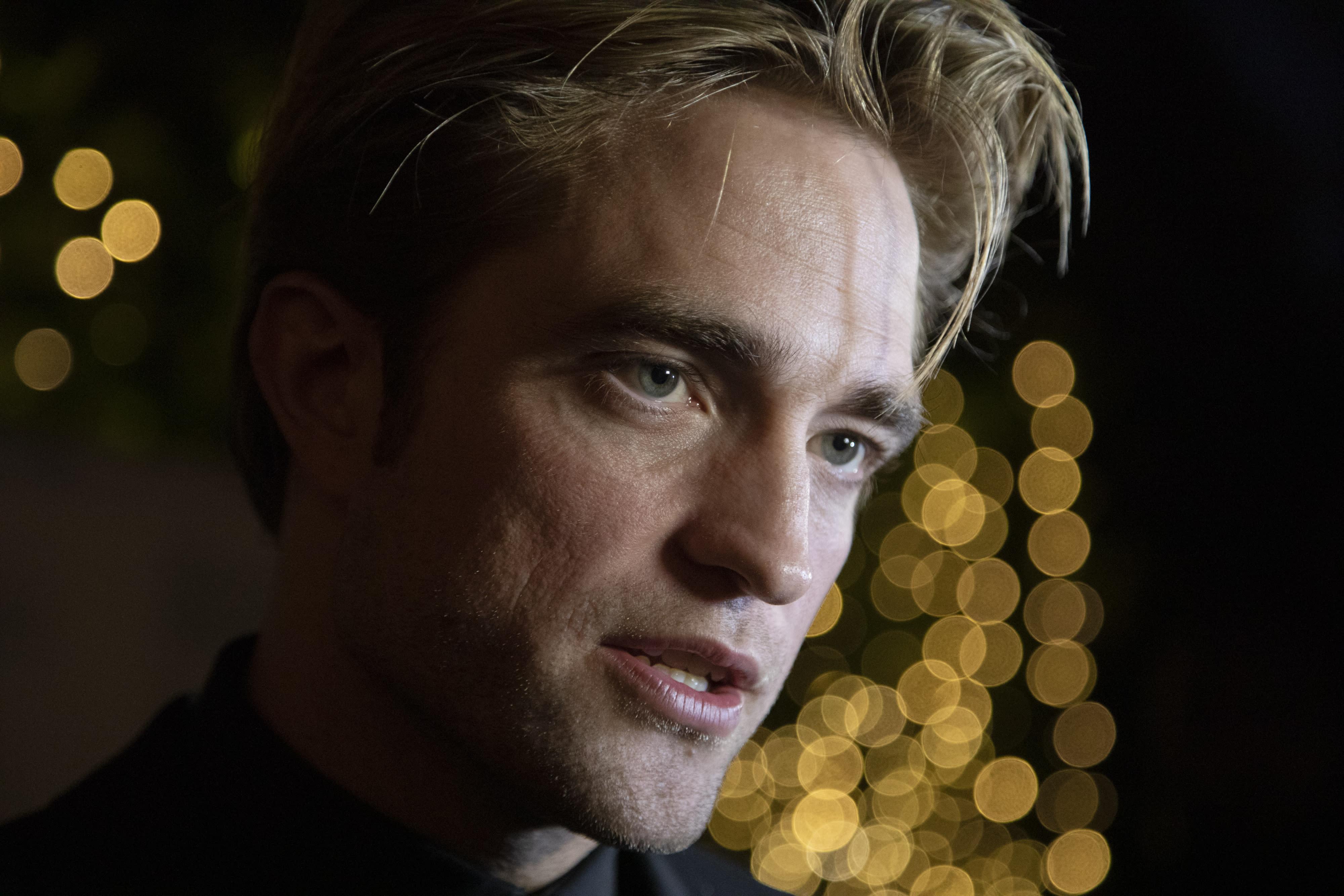 Robert Pattinson says his Batman is 'not a hero'