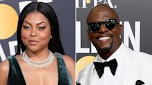 Taraji P. Henson Lost Her Ring in a Golden Globes Crowd — But Terry Crews Came to Her Rescue!