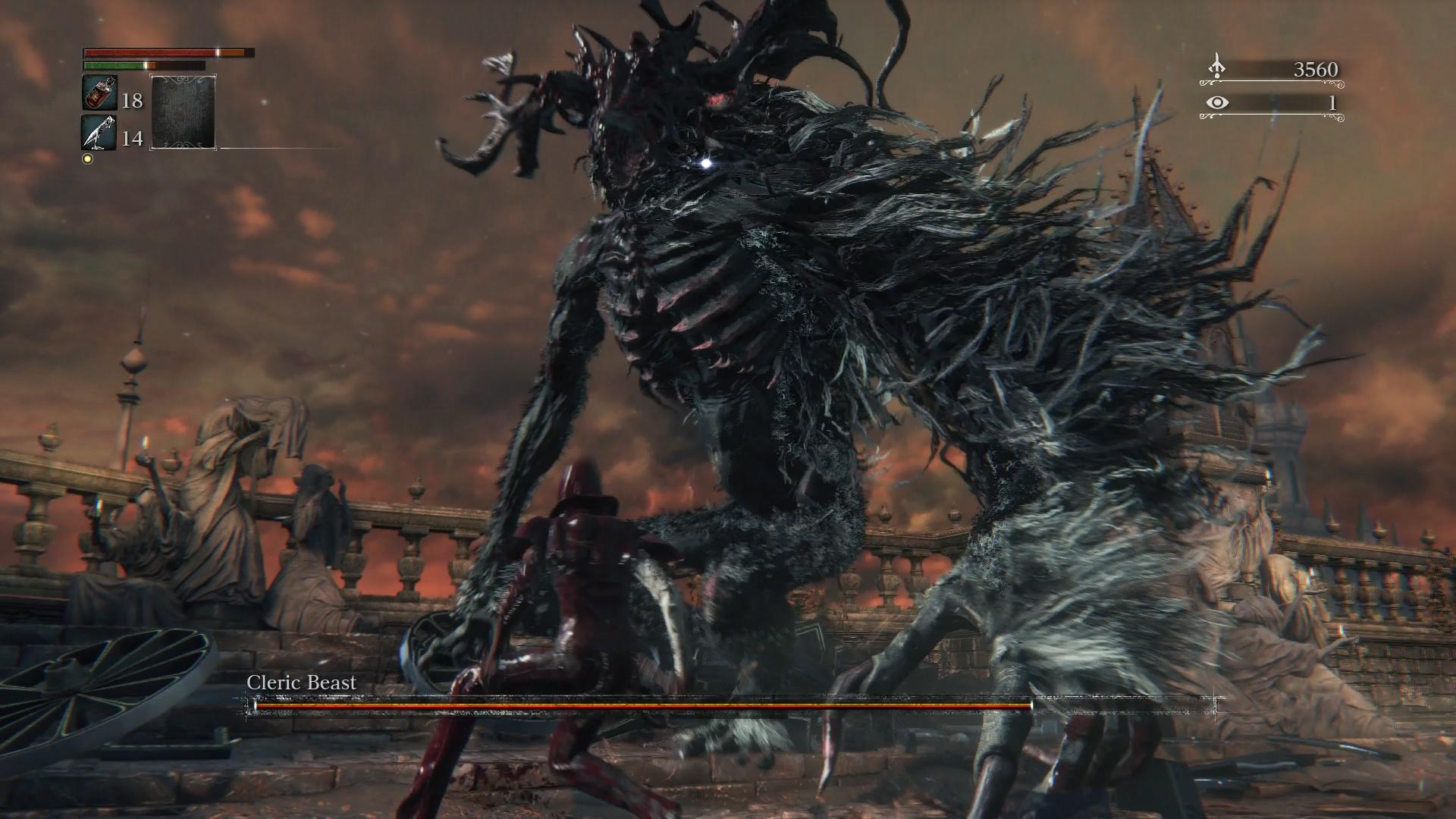 Bloodborne Boss Guide: How to Beat Cleric Beast