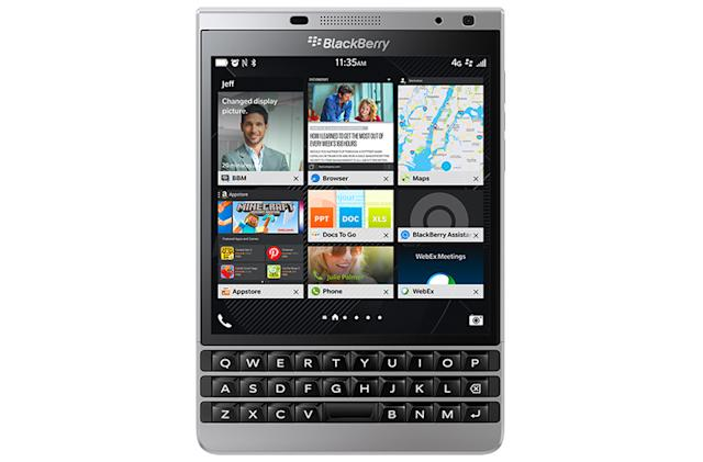 BlackBerry Passport Silver Edition gets stainless steel, keeps it square