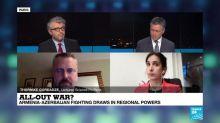 All-out war? Armenia, Azerbaijan clash over Nagorno-Karabakh