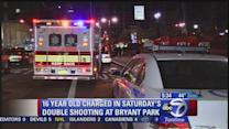 Teen charged in weekend shooting in Bryant Park