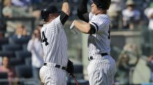 Aaron Judge breaks Mark McGwire's rookie record with 50th homer