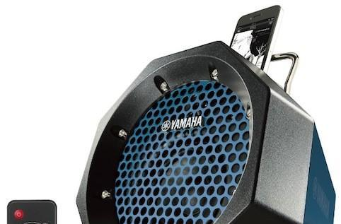 Yamaha's ruggedized PDX-11 iPod speaker dock lets you blast beats beyond your block for $100