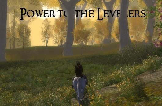 The Road to Mordor: Power to the levelers