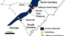 Pancon Expands Its 100%-Owned Jefferson Gold Project to Surround the Former Brewer Gold Mine Property in South Carolina