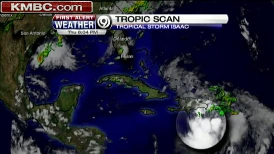 Red Cross team set to respond to Isaac