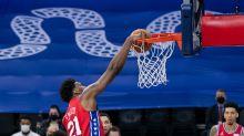 Joel Embiid stars as the Philadelphia 76ers beat the Boston Celtics