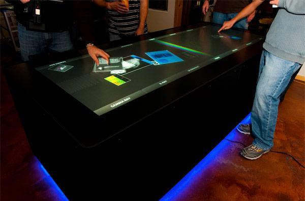 Ideum's 100-inch MT-50 multitouch table supports 50 simultaneous touch points (video)