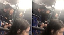 Man defends schoolgirl after bus passenger's 'creepy' advances