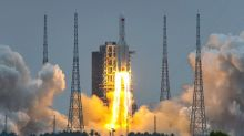 Chinese rocket debris crashes into Indian Ocean - state media