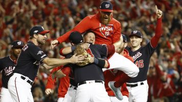 Undeniable Nats punch ticket to World Series