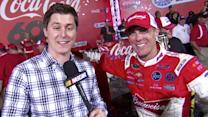 Harvick happy after Coca-Cola 600 win