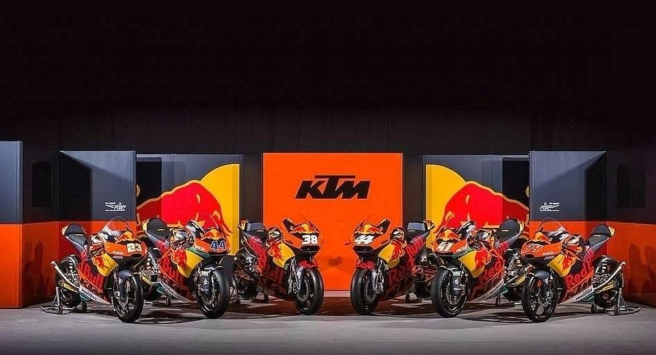 KTM同樣也跨足二輪界頂級賽事MotoGP。