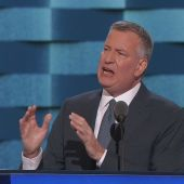 These are the 4 adjectives NYC Mayor Bill de Blasio used for Hillary Clinton, Donald Trump