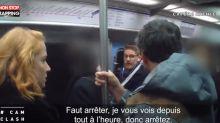 Cam Clash : il se frotte à une fille dans le métro, la réaction des passagers (Vidéo)