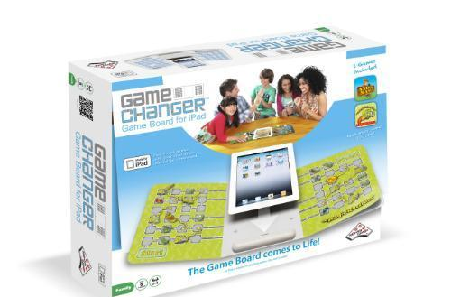 GameChanger is a game-changing, iPad game board that lets you change games