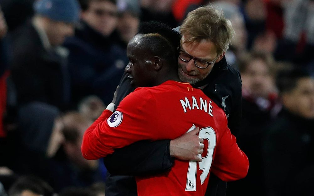 Jurgen Klopp is facing up to the possibility of being wihout Sadio Mane for rest of season