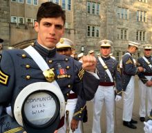 US soldier who said 'communism will win' and wore Che Guevara T-shirt to graduation kicked out of army