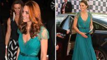 Fashion-Recycling: Herzogin Kate trägt ihr berühmtes Jenny-Packham-Kleid noch einmal