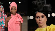 Was Marc Jacobs sending a message by putting models in head wraps?