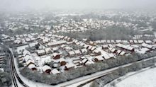 Large parts of UK wake up to winter wonderland