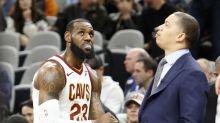 NBA: Cavs worried about Lue health - LeBron James