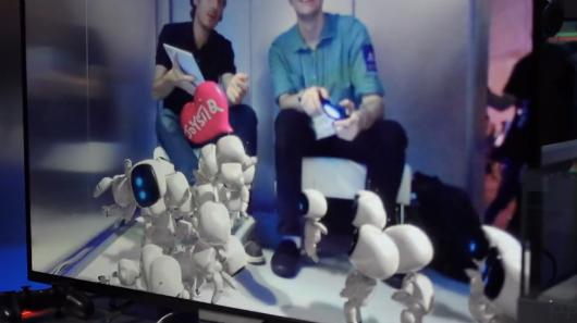 Hands-on with The Playroom, Sony's robot-filled AR pack-in