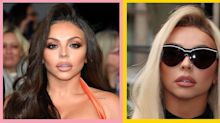 Jesy Nelson's new blonde hair is giving off major Barbie® vibes
