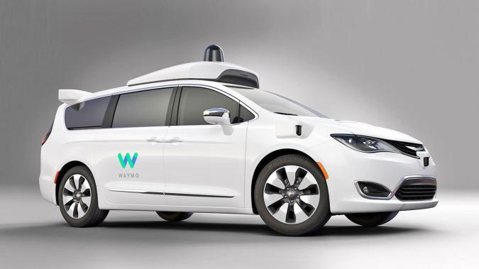Google shows off its sleeker self-driving Chrysler minivans