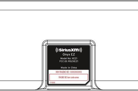 Sirius XM Onyx EZ satellite radio pops up at the FCC